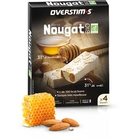 OVERSTIM.s Organic Nougat Box 4 x 25g, Nougat